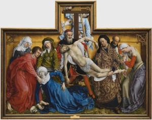 el desdendimiento de Roger Van der Weyden