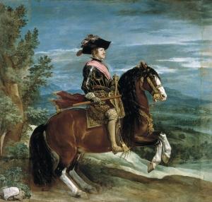 Felipe IV a Caballo de Velazquez